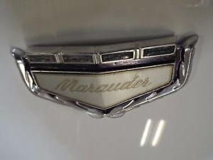 Header Panel Emblem 1969/69 Mercury Marauder X100 390 429 Grill Badge Ford Part