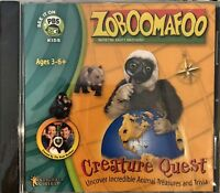Zoboomafoo Creature Quest Pc Brand New Sealed Win8 7 XP