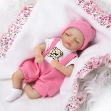 Nicery Reborn Baby Doll Soft Silicone Girl Toy 8in. 20cm Lifelike Gift C001GC
