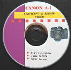 CANON A-1 Master Servicing  Repair Video on DVD :o