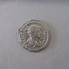 Roman GETA Roman Silver Denarius 198AD Ancient Roman Coin Felicitas (MAA)