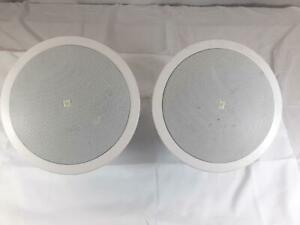 JBL Control 26CT Background/Foreground Ceiling Speaker Pair White Color