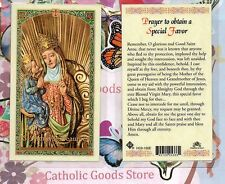 Saint. Anne de Beaupre - Prayer to obtain a Special Favor - Laminated Holy Card