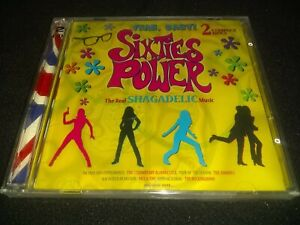 Sixties Power (2 CD Set, 1999) ~ New