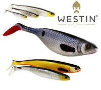 WESTIN Soft Plastic Bait Lure Fishing SHAD TEEZ 7cm up to 27cm Paddle Tail  Shad