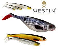 WESTIN Soft Plastic Bait Lure Fishing SHAD TEEZ 5cm up to 27cm Paddle Tail Shad