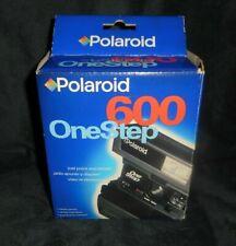 Vintage Polaroid 600 One Step Película Instantánea Cámara en Caja