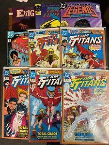 DC Comics, Mostly #1s Set 1, 9-issues, All VFNM+ Superman, Titans, JL, Enigma