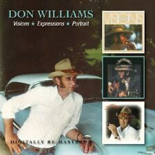 DON WILLIAMS - VISIONS/EXPRESSIONS/PORTRAIT 2 CD NEU