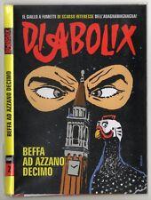DIABOLIK - BEFFA AD AZZANO DECIMO - albetto in edizione limitata 500 copie RARO