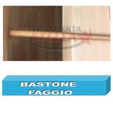 BASTONE PER TENDA LEGNO FAGGIO CM 300 VERNICIATO OPACO