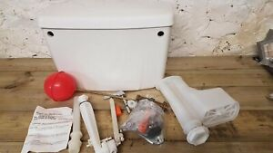 White Twyford Toilet Cistern
