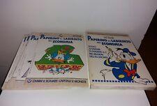PAPERINO NEL LABIRINTO DELL' ECONOMIA - CONTENITORE-12 FASCICOLI-POSTER - 1995