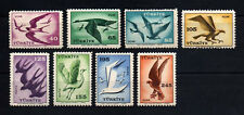 1959 TURKEY AIR MAIL STAMPS  BIRDS COMPLETE SET OF 8 MNH**