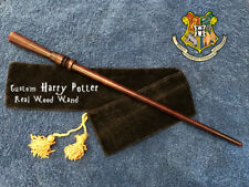 "Custom Harry Potter Wand 14"", REAL WOOD Hand Crafted, Unique, Rare, Pottermore"
