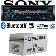 Sony Radio für VW Polo 9N3 Bluetooth CD/MP3/USB Autoradio - Einbauset PKW KFZ