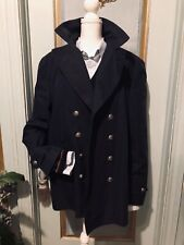 Gucci Men Navy Double Breasted Jacket/Coat IT 58 US XXL $2300