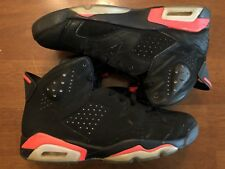 Nike Air Jordan Retro 6 VI Black Infrared 384664 023 Size 11.5