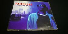 Faithless – Take The Long Way Home CD Single Red Second Edition