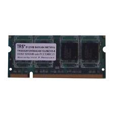 Arbeitsspeicher SDRAM TRS DDR2 512MB 667MHz PC2 5300 TRSDD2512MS64U-667CL5BZXE-8