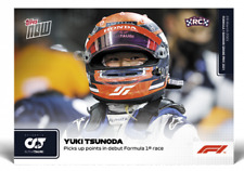 FORMULA 1 F1 TOPPS NOW® UK Card #3 Yuki Tsunoda ROOKIE CARD