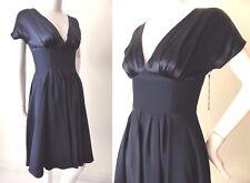 JAYSON BRUNSDON  Blue Silk Dress Size 6 - 8 US 2 - 4 Made in Australia rrp $689