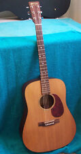 Vintage 1999 Martin DM Solid Spruce Top,  USA made Acoustic guitar, G.COND.