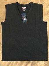 Boys French Toast V-Neck Sweater Vest Husky Style: Sc9016 E Size 14/16H Navy