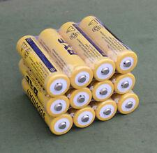 12pcs 9800mAh 3.7V 18650 High Capacity Li-ion Rechargeable Battery USA Seller WH