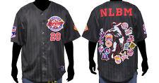 NLBM Commemorative Baseball Jersey - Black