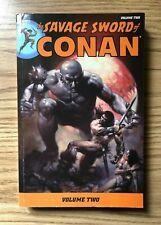 The Savage Sword of CONAN Volume 2 TPB Dark Horse Comics Out of Print Marvel