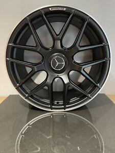 """X4 20"""" S63 ALLOY WHEELS BLACK MERCEDES S W223 W222 W221 E CLASS W212 W213 AMG"""
