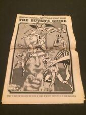 Comic Buyer's Guide #1 1971 fanzine fan newspaper magazine