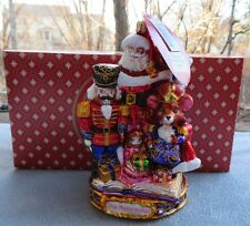 Christopher Radko Christmas Ornament Nutcracker End of an Adventure #1018589 NIB