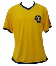 84626c537 Club America Men s Soccer Yellow Jersey Official Licensed Size XL New W Tags