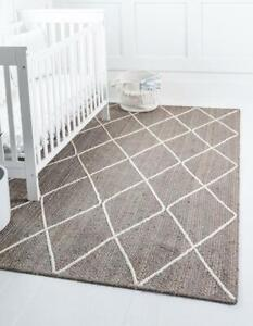 5x8 feet square braided rugs diamond shape for living room indoor outdoor rugs