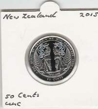 New-Zealand 50 cents 2015 UNC - (mf117)