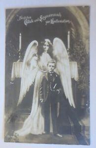 Konfirmation, Kinder, Mode, Engel,   1910 ♥ (64344)