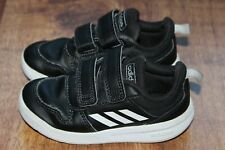 ADIDAS SIZE UK 7 , EUR 24 KIDS INFANTS BOYS LEATHER SNEAKERS VE