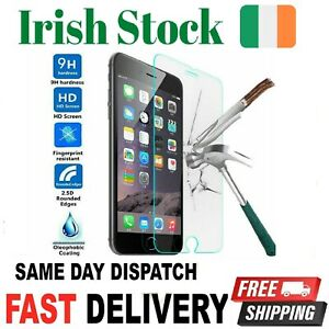 Screen Protector for iPhone 5 6 7 8 PLUS X XS XR 11 12Pro/Max Tempered glass SE2