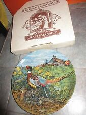 """Knowles Upland Birds Of North America """" The Pheasant """" Plate Wayne Anderson"""