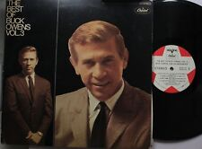 Country Lp Buck Owens The Best Of...Vol. 3 On Capitol