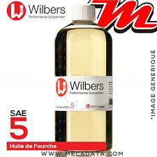 SAE 5 - Huile de fourche Wilbers