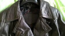 Superbe Veste en cuir Alexander couleur marron EXCELLENT ETAT