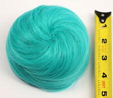 5'' Spiral Drawstring Bun w/ Combs Seafoam Green Cosplay Wig Hair Accessory NEW