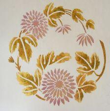 Chrysanthemum Twist Stencil - MEDIUM - Reusable Stencils for Walls and DIY Craft