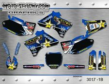 Yamaha YZf 250 400 426 1998 up to 2002 graphics decals kit Moto StyleMX