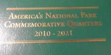 LITTLETON COINBOOK ,AMERICAN NATIONAL PARK QUARTERS WITH 1RST 39 UNC. QUARTERS