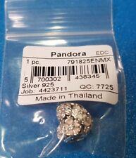 Pandora - Charms - Malerische Blüten -Herz Rosen  - 791825ENMX - 925er Silber