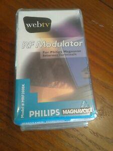 Philips Magnavox MRF200BK NEW, Unused RF Modulator for Internet Terminals